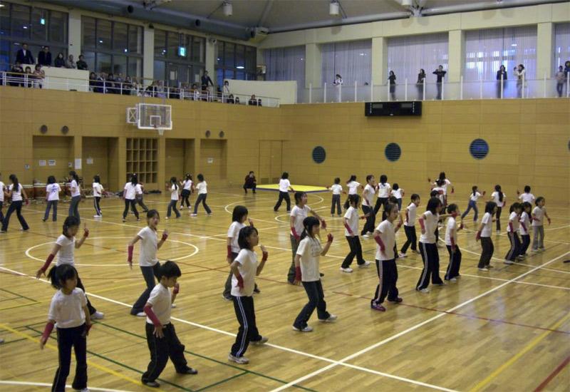 宮前スポーツセンター1周年記念イベントに出演