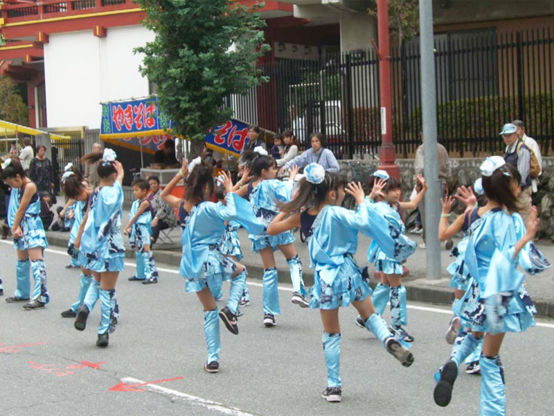 2008年10月26日、第7回秩父舞祭りに「SAKADO WINDS」が参加。