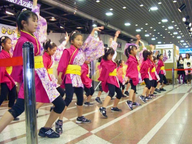 2008年11月22日、かわさき人権フェア2008に夢桜が出演しました。